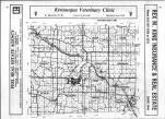 Index Map, Van Buren County 1983